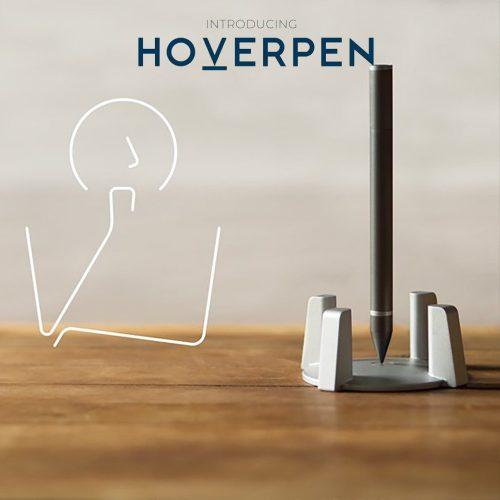 インスピレーションを引き出す。無重力自立ペン【HoverPen】
