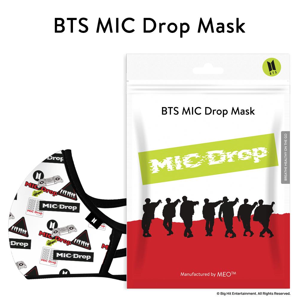BTS MIC Drop マスク